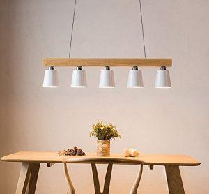 Lámparas de diseño ZMH techo