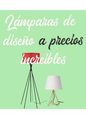 Lámparas de diseño a precios increíbles